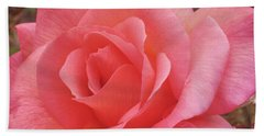Truly Pink  Beach Towel