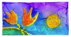 Tulip Hugs Beach Sheet