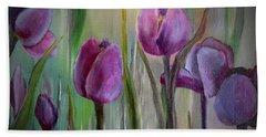 Tulip Passion Beach Sheet