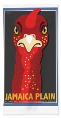 Turkey Stare Jp Beach Towel