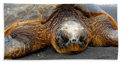Turtle Rest Stop Beach Towel