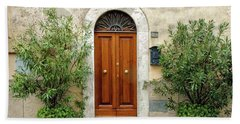 Tuscan Door Beach Towel