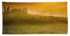 Tuscany In Gold Beach Towel