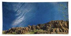 Tuscon Clouds Beach Towel