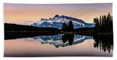Twilight, Two Jack Lake Beach Sheet