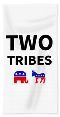 Two Tribes Beach Towel