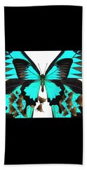 U Is For Ulysses Butterfly Beach Towel