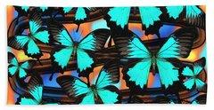 Ulysses Multi Blue Beach Towel