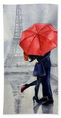 Under A Red Umbrella Beach Sheet