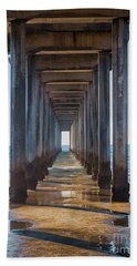Under Scripps Pier Beach Sheet