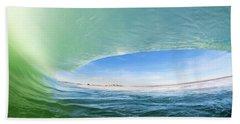 Under The Hood Beach Towel