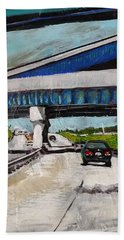Underpass Z Beach Towel
