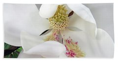Unfolding Beauty Of Magnolia Beach Towel