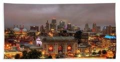 Union Station Sunrise 2 Kansas City Missouri Art  Beach Towel