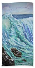 Unstoppable Force Beach Towel