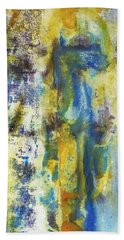 Beach Towel featuring the painting Untitled3 by 'REA' Gallery