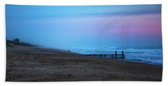 Beach Towel featuring the photograph Up Before Sunrise by Lora J Wilson