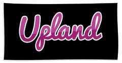 Upland #upland Beach Towel