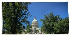 Us Capitol Beach Towel