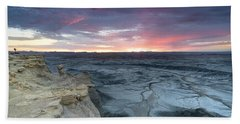 Utah Desert Sunrise Beach Towel