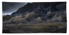 Utah Storm Beach Towel