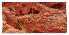 Valley Of Fire Nevada Beach Towel