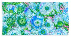 Van Gogh's Garden Beach Towel