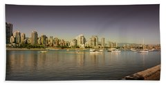 Vancouver In Magical Hours Beach Sheet
