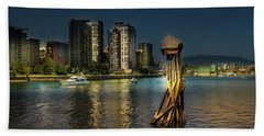 Vancouver Sunset Beach Towel