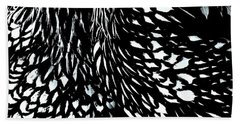 Wyandotte Abstract Dyptic  Beach Towel