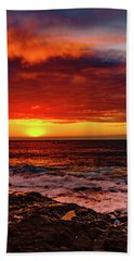 Vertical Warmth Beach Towel
