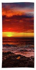 Vertical Warmth Beach Sheet