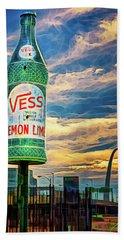 Vess Soda Bottle Beach Sheet