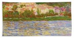 Vetheuil, 1902 - Digital Remastered Edition Beach Towel