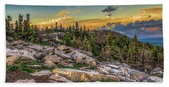 View From Dolly Sods 4714 Beach Sheet