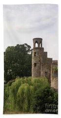View Of The Blarney Tower Beach Towel