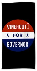 Vinehout For Governor 2018 Beach Towel