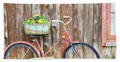 Vintage Bicycles Beach Towel