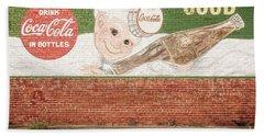 Vintage Drink Coca Cola Beach Towel