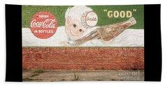 Vintage Drink Coca Cola Beach Sheet