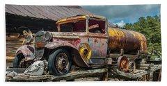 Vintage Ford Tanker Beach Sheet
