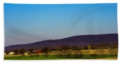 Virginia Mountain Landscape Beach Towel