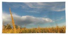 Visions Of Autumn Beach Sheet