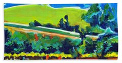 Vistas And Vineyards Beach Towel