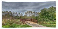 Walnut Woods Bridge - 2 Beach Sheet