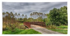 Walnut Woods Bridge - 3 Beach Towel