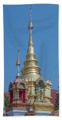 Beach Towel featuring the photograph Wat Ban Kong Phra That Chedi Pinnacle Dthlu0499 by Gerry Gantt