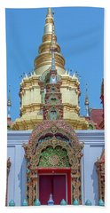 Wat Ban Kong Phra That Chedi Window Dthlu0504 Beach Towel