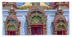 Wat Ban Kong Phra That Chedi Windows Dthlu0503 Beach Towel