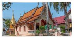 Wat Pa Chai Mongkhon Phra Ubosot Dthla0123 Beach Sheet